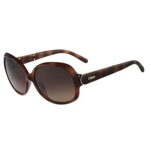 Chloe CE611S Sunglasses in Havana Brown